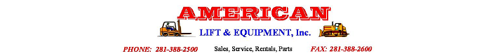 American Lift & Equipment, Inc