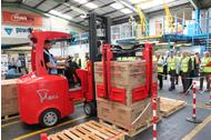 Space saving intralogistics solutions on show at Multimodal
