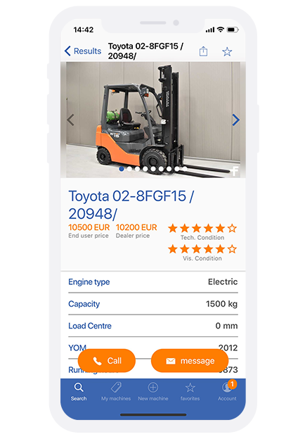 Forklift International App