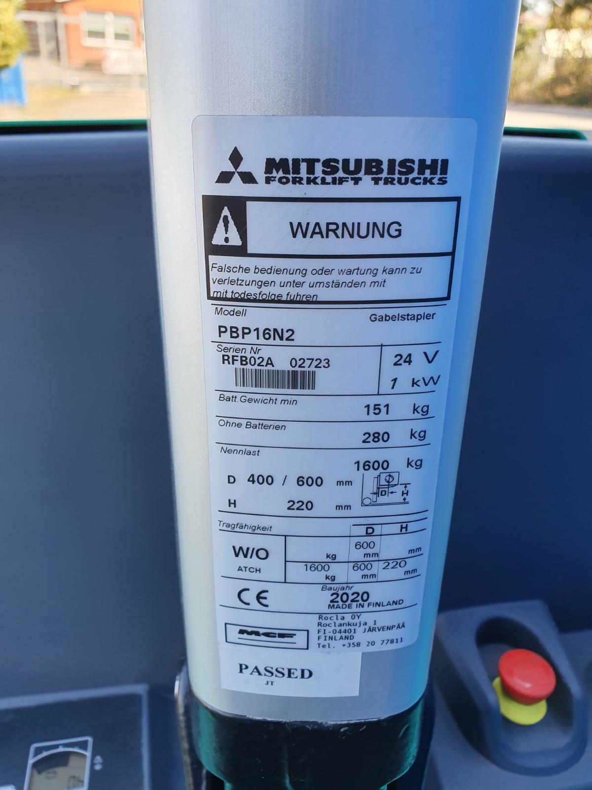 Mitsubishi PBP 16 N2